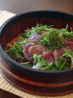 野菜たっぷり洋風漬け丼