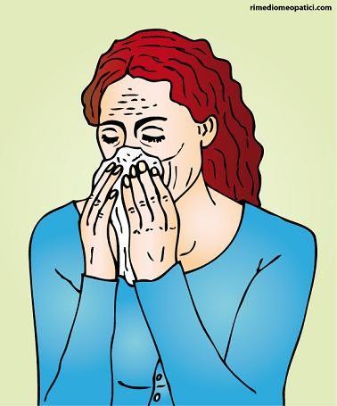 Raffreddore e Rinite allergica, Rimedi omeopatici