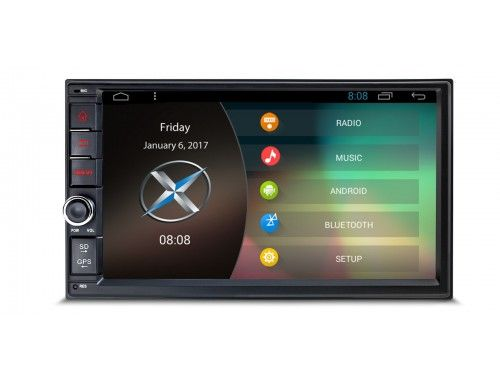 """TCD761AL -  7"""" Android 6.0 Marshmallow HD Digital Multi-touch Screen 1080P Video Double Din Car Stereo. http://xtrons.co.uk/tcd761al-7-android-6-0-marshmallow-hd-digital-multi-touch-screen-1080p-video-double-din-car-stereo.html"""