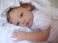 Ella Mae Custom Reborn Doll Jannie de Lange Toddler Little Darlins Nursery