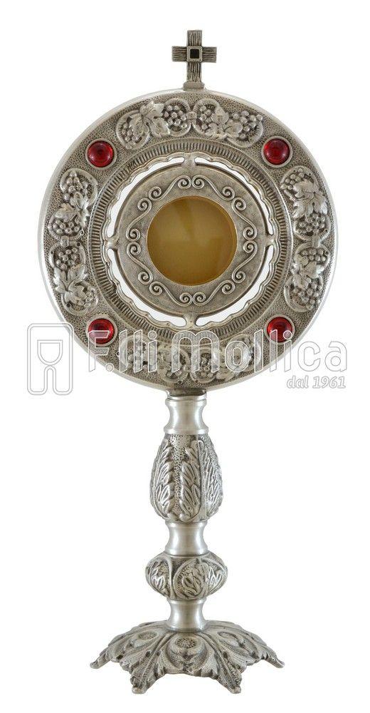 Reliquiario con Uva e Pietre Rosse
