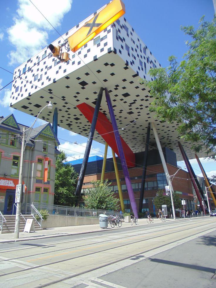 Ontario College of Art on McCaul Street