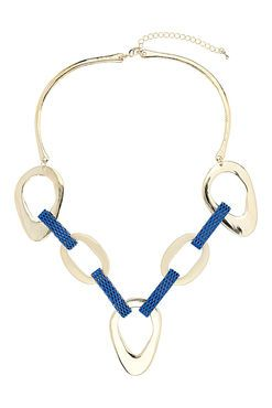 Blue Link Necklace by Wallis - $21
