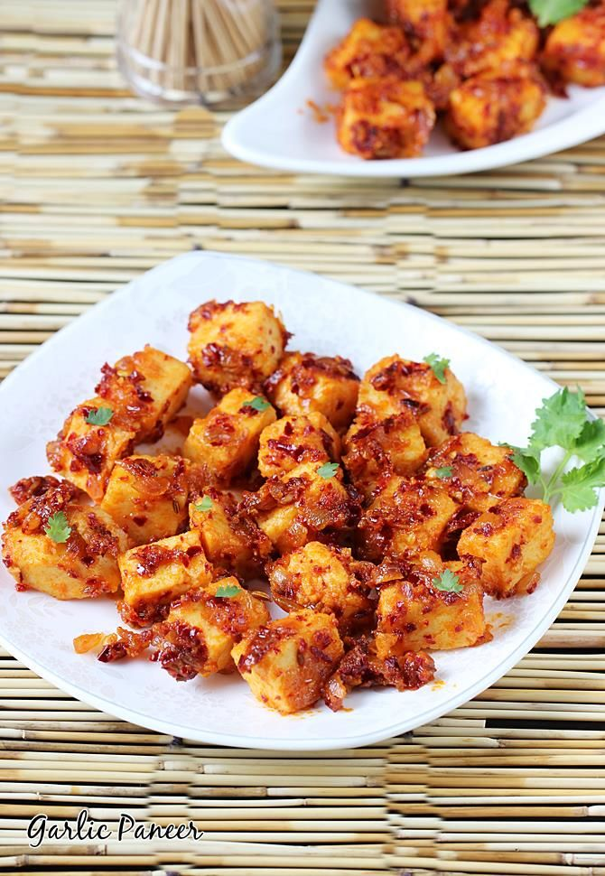 garlic paneer recipe – delicious garlic flavored quick paneer starter that can be made under 15 minutes. This can be served in so many wonderful ways – as a starter for parties, as a evening snack or can be used as a filling for kathi rolls. Since it is mildly spicy and hot, it is …