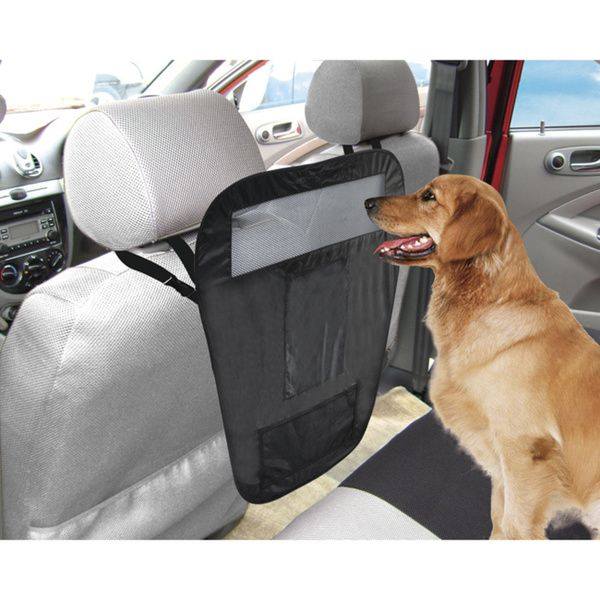 Car Pet Barrier Auto Organizer Dog Vehicle Partition Back Seat Front Animal Mesh