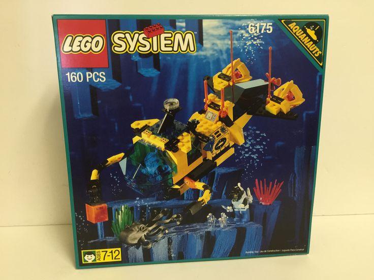 Lego System Crystal Explorer Sub 6175