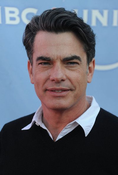 Peter+Gallagher | Peter Gallagher Actor Peter Gallagher arrives at NBC Universal's 2010 ...