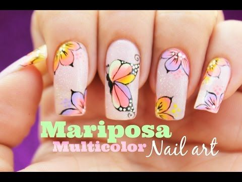 Como pintar tus uñas perfectas - Paint Your Nails Perfectly - YouTube