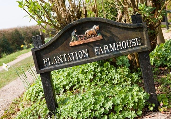 Shabby and Charme: Una splendida farmhouse nella campagna inglese