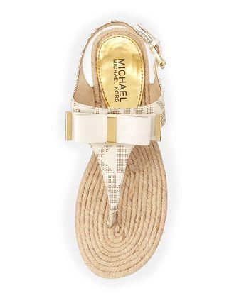 Michael Kors sandals!  So cute!