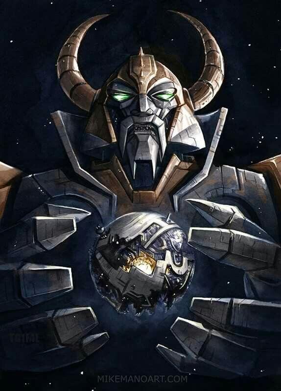 Unicron vs Cybertron