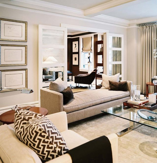 Ron marvin is a genius home decor pinterest for Living room designs with french doors