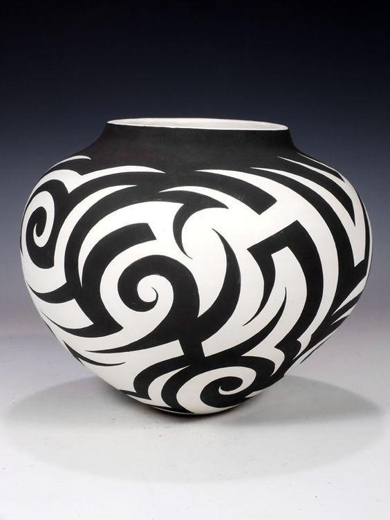 Modern Acoma Pueblo Pottery