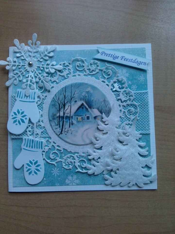6002/0303 Noor! Design Cutting & Embossing stencil cirkel door Agnes van Dijk