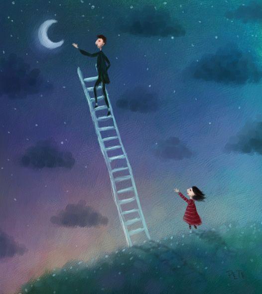Me faça um gesto, me faça perto Me de a lua que eu te faço adormecer...
