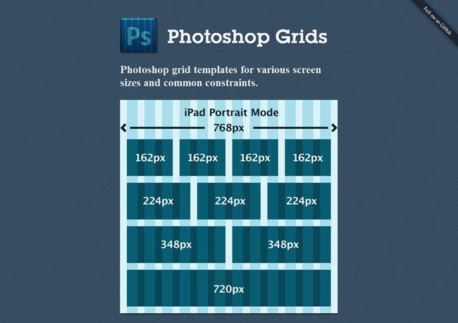 Plantillas PSD y PNG de grids o rejillas CSS para diseño web en http://ceslava.com/blog
