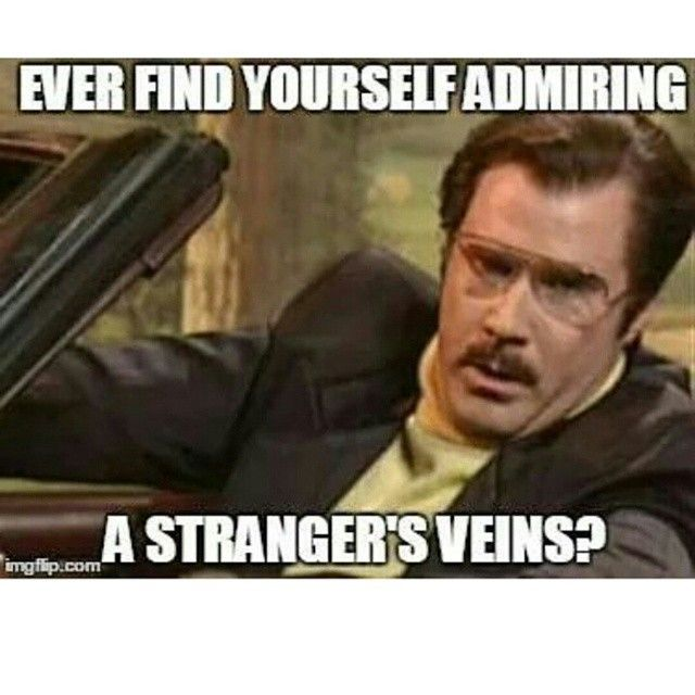 Phlebotomy humour for sure...  Or vampire... Although same thing really ha ha