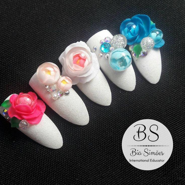 Nail Art Candy Ball #candyball #nailart #naildesign #nail #fun #unhas #nailarte