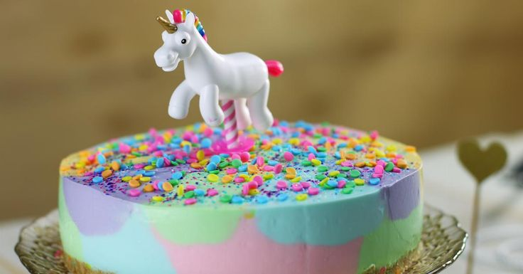Cheesecake licorne