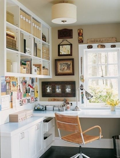 study room by lola ...Great office space.