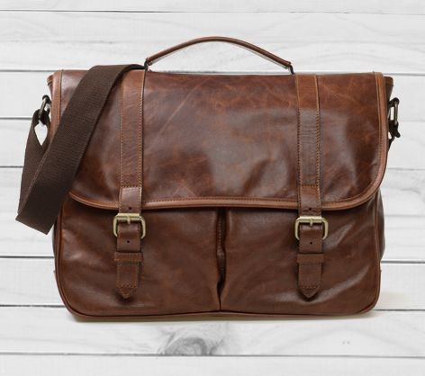 Gents Leather Satchel