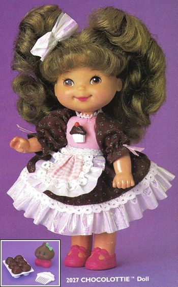 Chocolottie doll from the Cherry Merry Muffin collection!