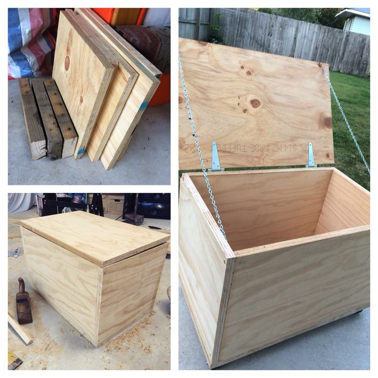 Ply wood Toy chest
