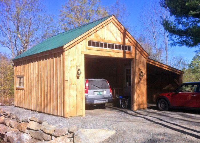One Bay Garage Kit