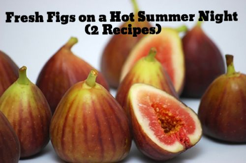 Fresh Figs - How to Grow plus 2 Recipes