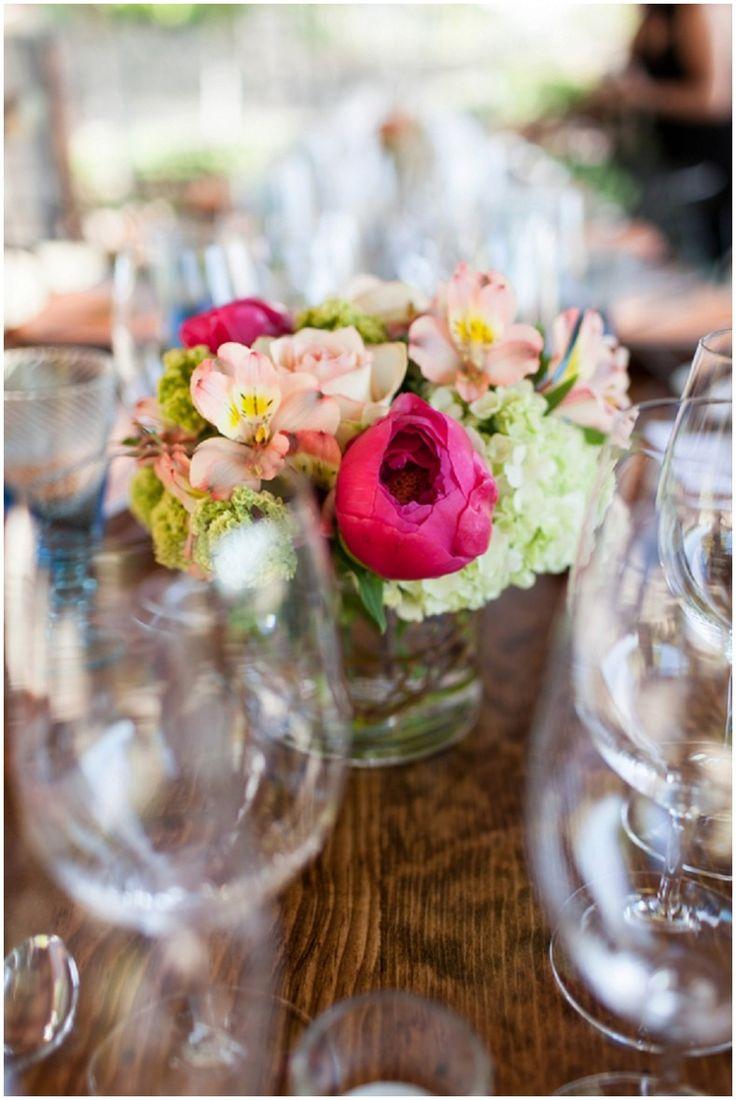 142 best wedding centerpiece ideas images on pinterest Hot Pink Roses Centerpieces pink roses table centerpieces