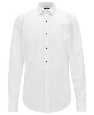 1bc848e59 HUGO BOSS BOSS MEN'S JANT FORMAL SLIM-FIT COTTON SHIRT. #hugoboss #cloth