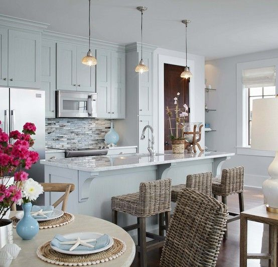 Beach house. ideas for my kitchen remodel