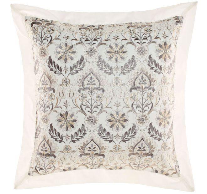 Linen House Classic Arya European Pillowcase Antique White