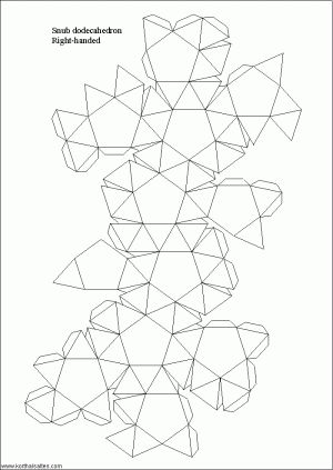net snub dodecahedron
