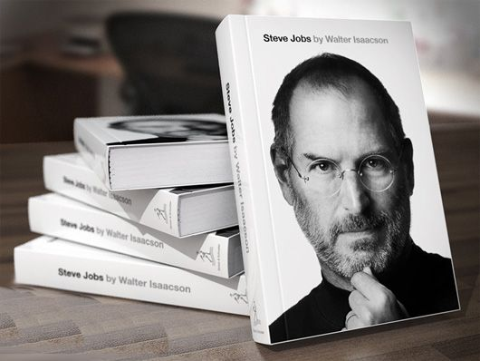 Definitely worth reading the book about Steve Jobs!