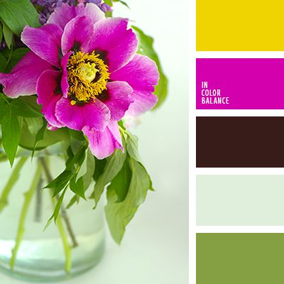 бордовый, насыщенный цвет фуксии, оттенки зеленого, пастельный зеленый, подбор цвета, салатовый, цвет фуксии, цвета весны 2016, шафрановый желтый, яркий желтый, яркий розовый.