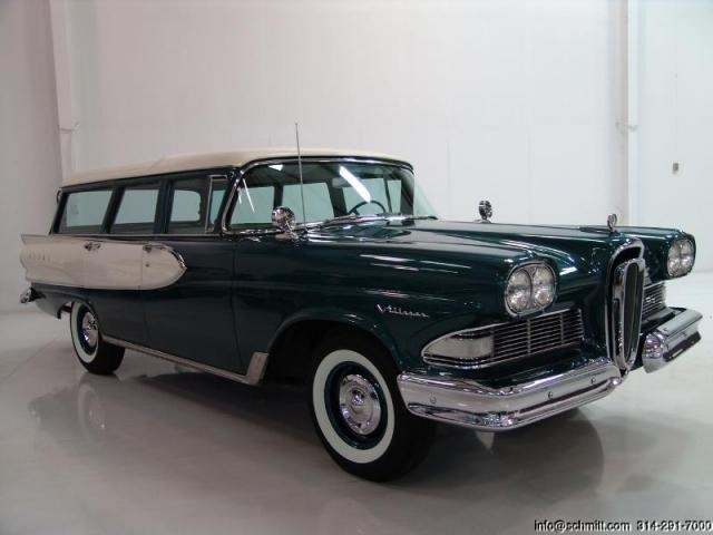 1958 Edsel Villager Station Wagon