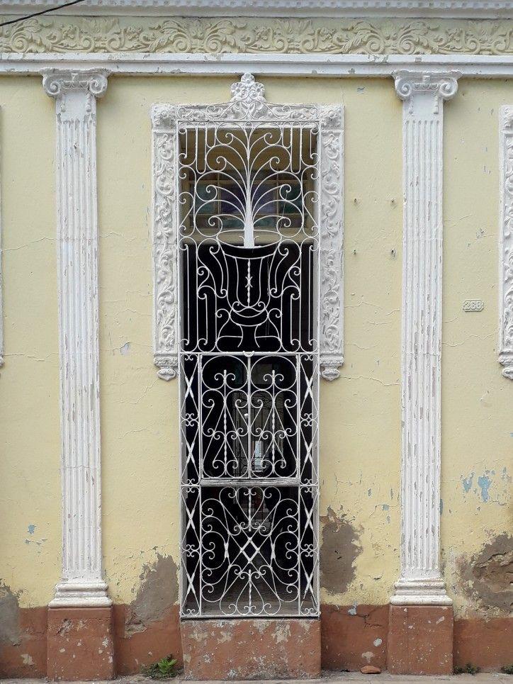 Trinidad Cuba Unique Doors Old Doors Iron Fence Gate