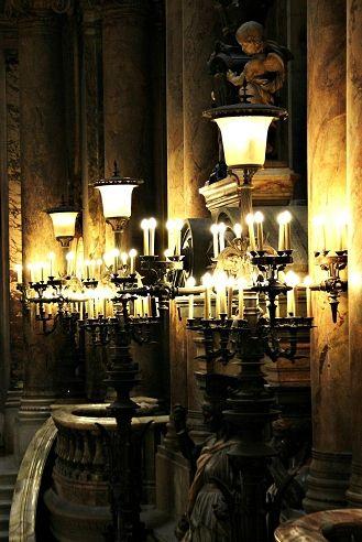 Opera Garnier Paris, Paris City, Lamp Light, Fiat, Street Lights .