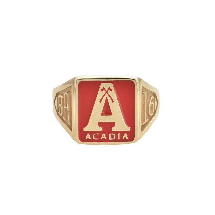 Acadia A Grad Ring