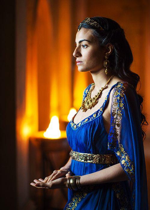 Ariadne - Aiysha Hart in Atlantis (TV series).