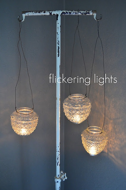 Best 25 hanging candle holders ideas on pinterest patio for Diy hanging tea light candle holders
