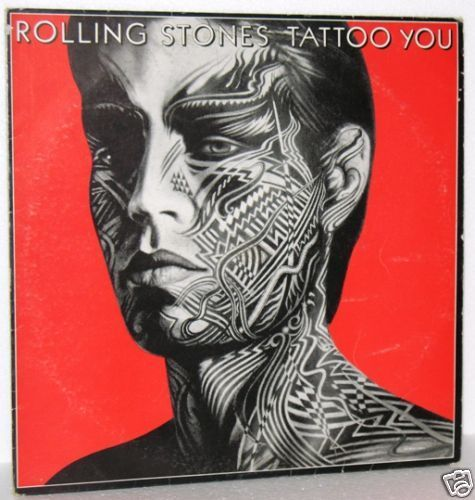 Pochette de Peter Corriston pour l'album Tattoo You des Rolling Stones 1981
