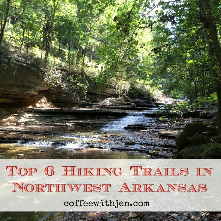 Top 6 Hiking Trails in Northwest Arkansas #hikingtrails