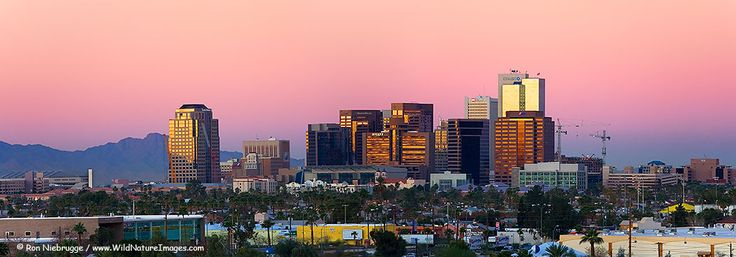 Beautiful Phoenix, AZ. David's hometown.