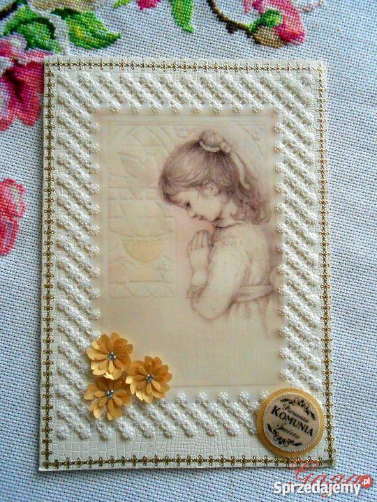 Pamiatka Komunii Św dziewczynki Dla Dziecka Toruń