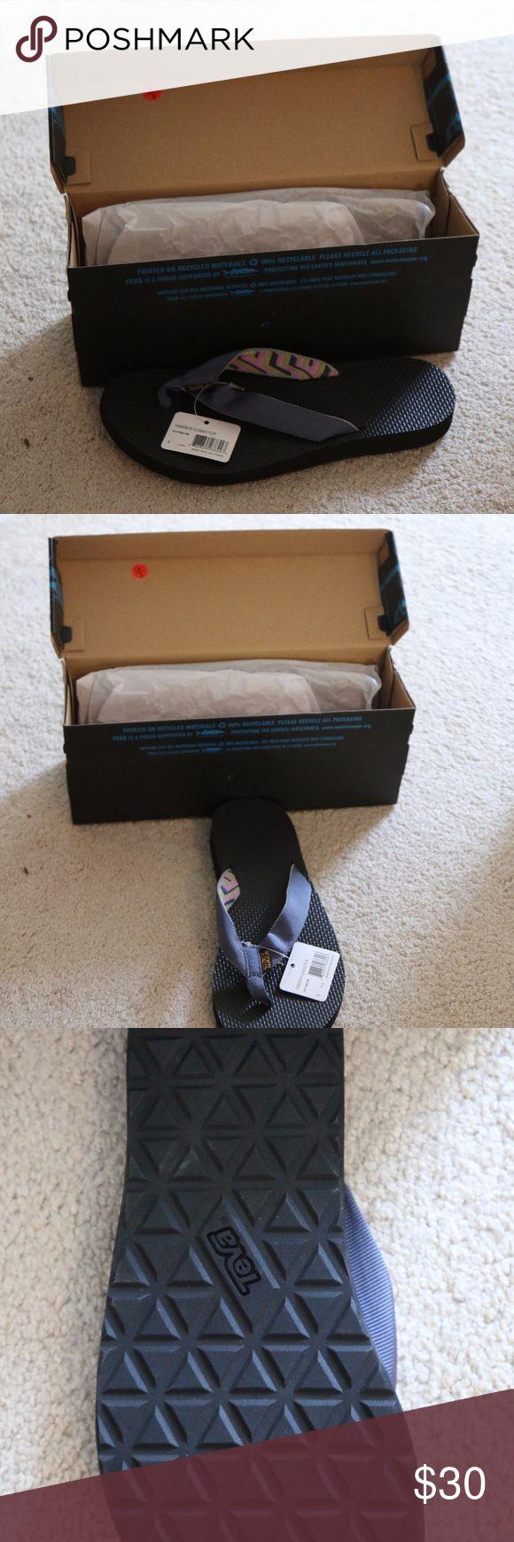 "Brand New Teva Flip-Flops with box Very comfortable BNWT and box Teva sandals in ""Azura Vintage Indigo"" Teva Shoes Sandals"