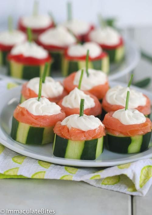 17 best images about canapes on pinterest smoked salmon for Canape with cheese