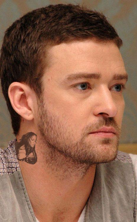 Justin timberlake's Janet Jackson neck tattoo | Lolz ...