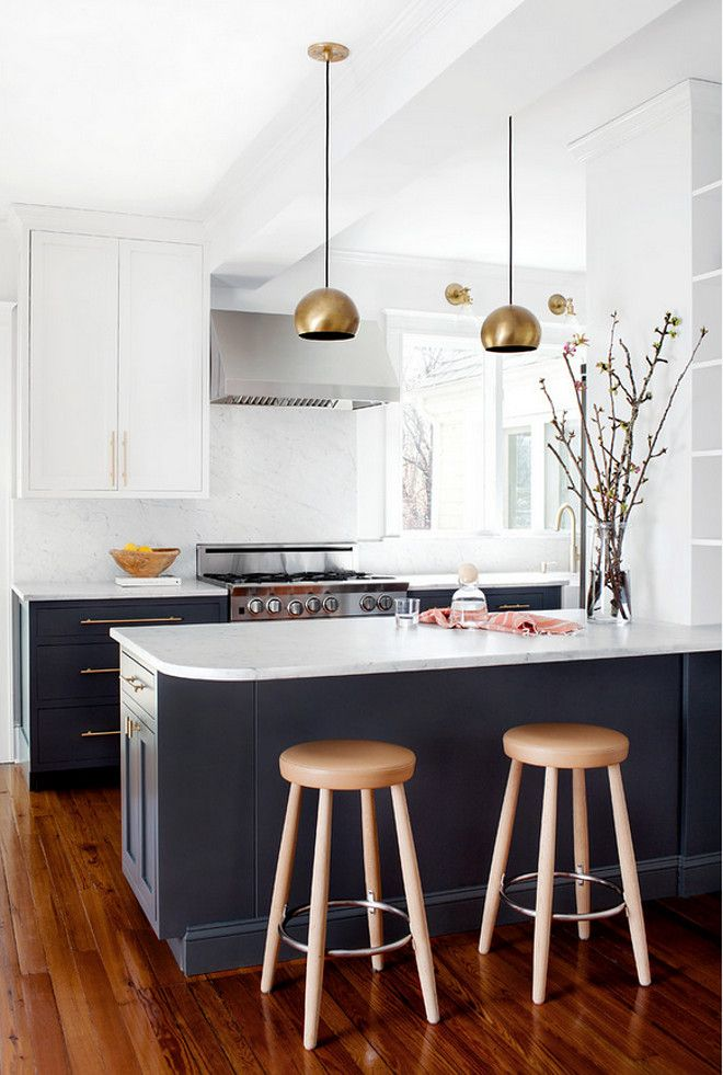Amazing 27+ Two Tone Kitchen Cabinets Ideas Concept : This Is Still In Trend Part 30
